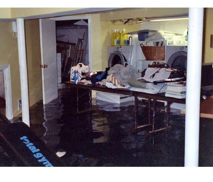 Storm Damage Flooded basement, now what?