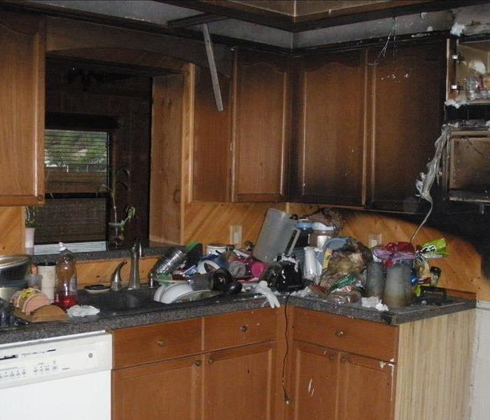 Fire Damage I have smoke damage in my house after a fire.