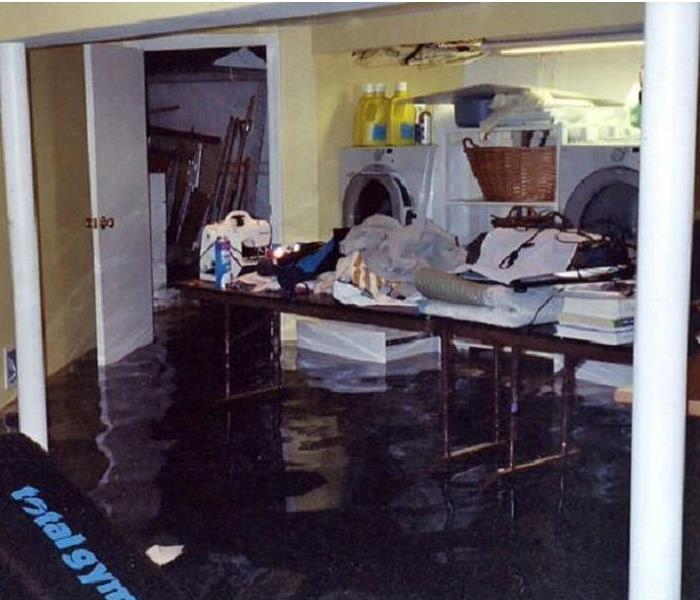 Image result for flooded basement cleanup